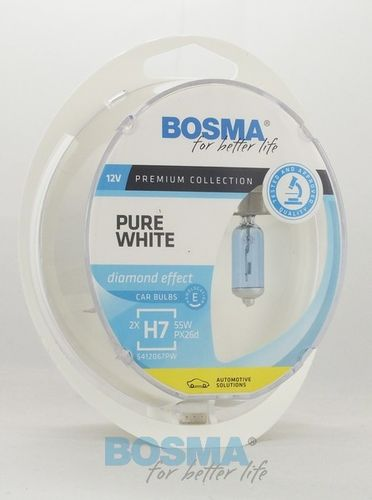 DP 12V 55W H7 PX26d Pure WEISS